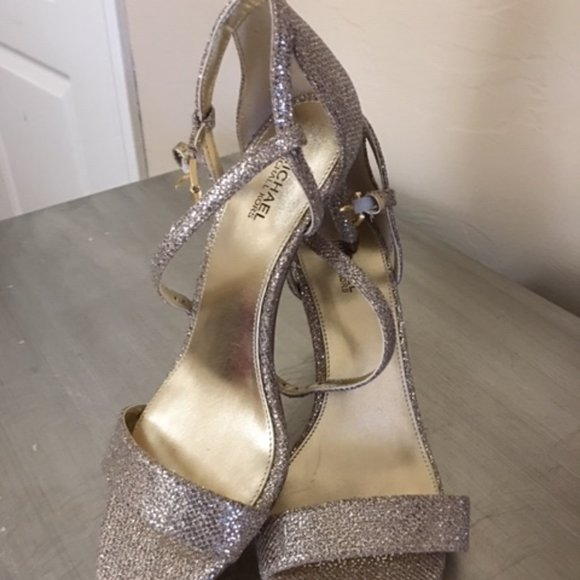 Never been worn Michael Kors evening shoes!!